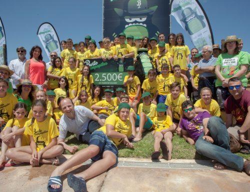 Un total de 150 colegios de la Comunitat Valenciana recogen  26.000 kilogramos de pilas tras la campaña de reciclaje